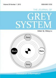 Journal of Grey System(SCI)